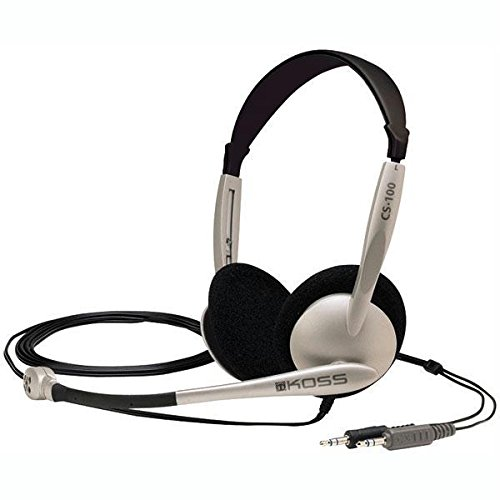 Koss CS100 Casque Ordinateur Avec Micro Headset Koss The Plug
