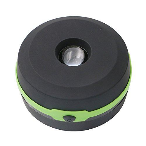 (Camping Zelt Laterne Licht, YouGer wiederaufladbare zusammenklappbare Licht Lampe Taschenlampe USB LED Nachtlicht für Wandern, Outdoor-Aktivität Garten Notfall (grün))