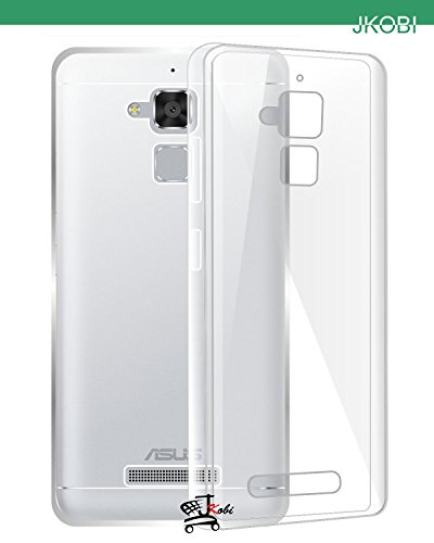 Jkobi Exclusive Soft Silicone TPU Jelly Crystal Clear Case Soft Back Case Cover For Asus Zenfone 3 Max ZC520TL -Transparent  available at amazon for Rs.145