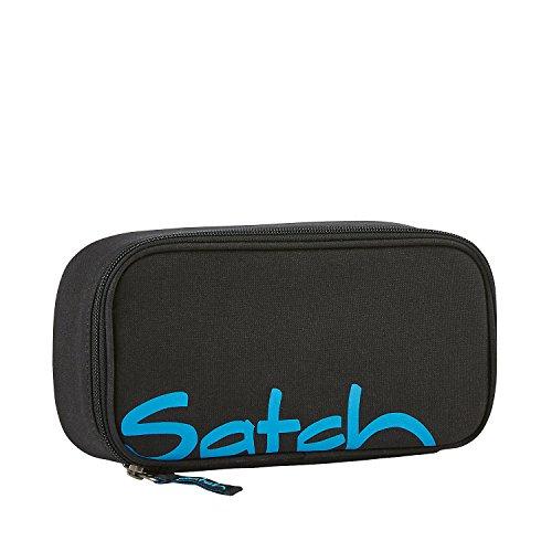 SATCH Black Bounce Federmäppchen, 22 cm, Schwarz, SAT-BSC-001-801