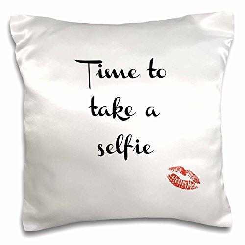 3drose Pc 183677 1 Time To Take A Selfie Kissen Fall 40 6 X 40 6 Cm