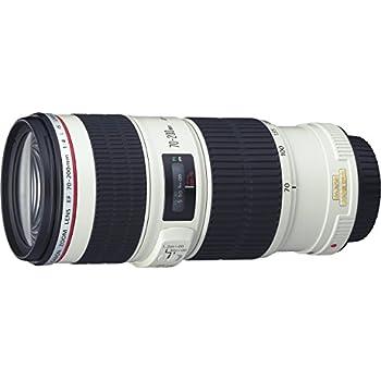 Canon EF70-20040LIS - Objetivo para Canon (distancia focal 70-200mm, apertura f/4, estabilizador) color negro y blanco