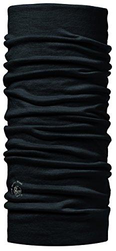 Buff® Merino 100% Unisex Multifunktionstuch (Sturmhaube Schal Kopftuch Halstuch), Design:BLACK + UP® Schlüsselband