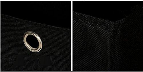 DFHHG® Estantería, Estantería, Tres Camas Taquillas Negro 40 * 24 * 80 Cm durable