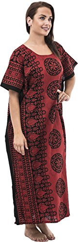 Nightingale Collection - Robe - Femme Rouge Red Taille Unique rouge/noir