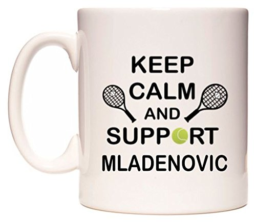 Keep Calm And Support Mladenovic Tasse de WeDoMugs