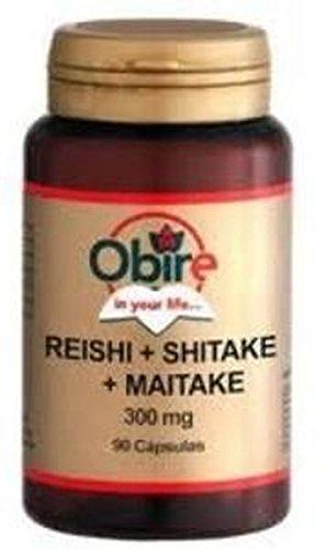 Reishi, Shitake, Maitake 90 cápsulas de Obire