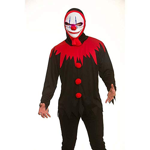 Killer Clown and MASK SEPERATE For Halloween Fancy dress Costume