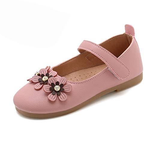 Mädchen Mary Jane Schuhe, Klassische Prinzessin Schuhe Uniform School Party Ballett Blume Wohnungen Maryjane Kleid Schuhe für Kleinkinder Kleinkinder,33