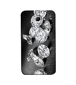 Fuson diamond theme Designer Back Case Cover forLenovo K880 -P-1444