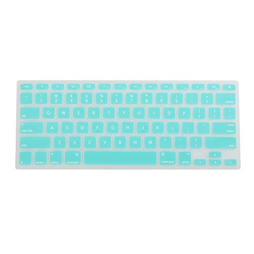 Sección 6 verde menta con Protector de teclado de silicona y Protector de...