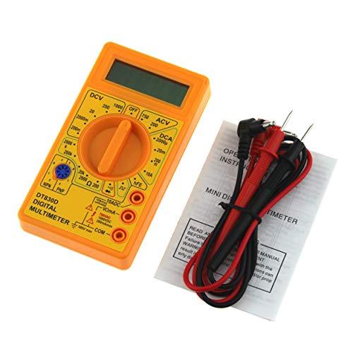 LoveOlvidoD DT-830D Mini Pocket Digital Multimeter 1999 Zählt AC/DC Volt Amp Ohm Diode hFE Durchgangsprüfer Amperemeter Voltmeter Ohmmeter
