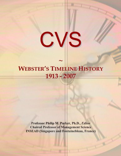 cvs-websters-timeline-history-1913-2007