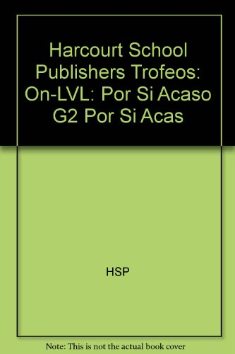 SPA-HARCOURT SCHOOL PUBLS TROF (Harcourt School Publishers Trofeos) por HSP
