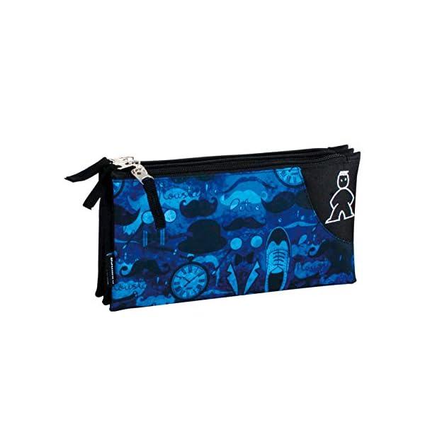 Campro- Estuche, Color azul (Perona 56824)