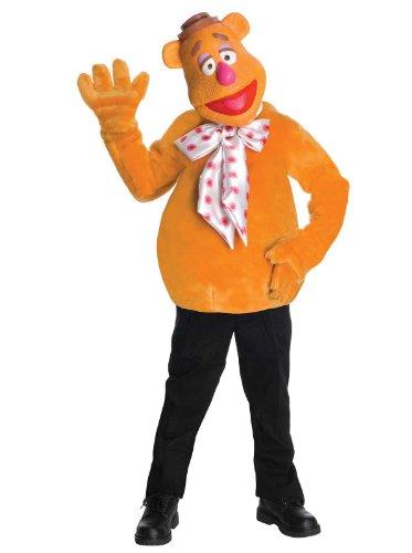 Bär Kostüm Fozzie - The Muppets - Fozzie Bär Kinderkostüm - 140cm