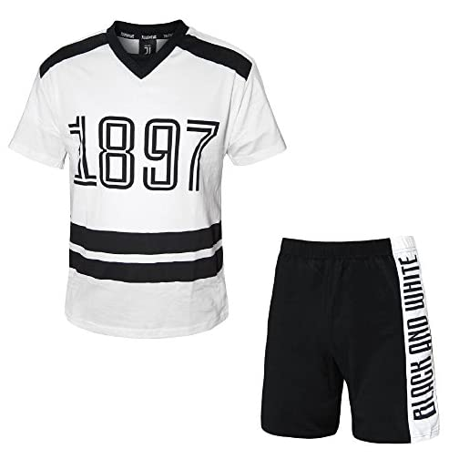 e1f7b7f9883e50 PLANETEX Pigiama Juve Uomo Abbigliamento Ufficiale Juventus Calcio PS 26852