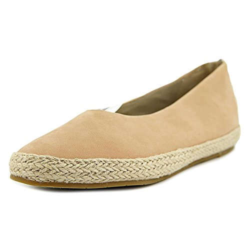Eileen Fisher Tour Femmes Cuir Chaussure Plate Toffee