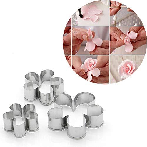Hosaire Set-Conjunto Flor azucar cortando Molde Galletas