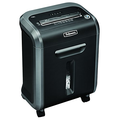 Fellowes 79Ci - Destructora trituradora de papel, 16 hojas, color...