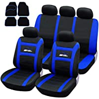 Nissan Pathfinder Luxus Lammfell Sitzbezüge Auto Sitzbezug Schwarz