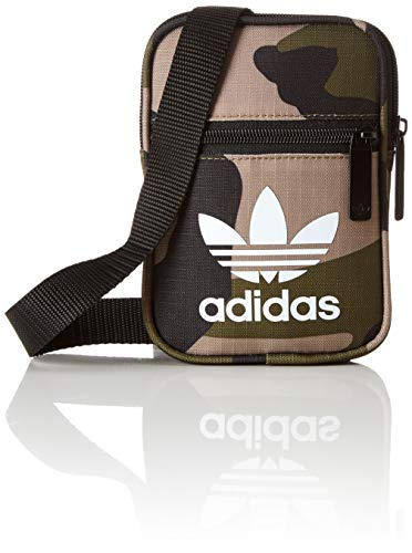 adidas Unisex-Erwachsene DV2476 Rucksack, Mehrfarbig (Carpal/Blanco 000), 12 x 17 x 2 cm