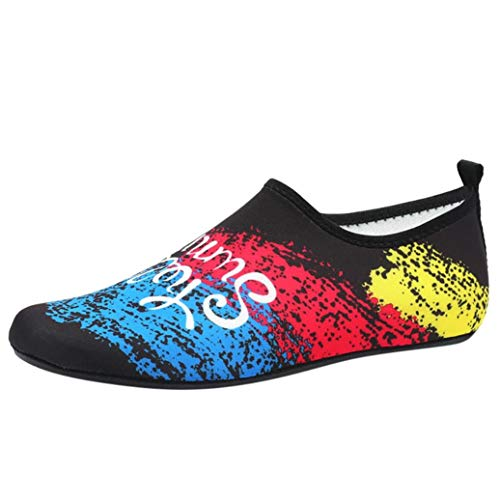Unisex Sportschuhe Damen Herren Segelschuhe Wasser Schuhe Barfuß Quick-Dry Slipper Aqua Socken Strand Swim Surf Schuhe Übung Sportschuhe Laufschuhe für Paare,ABsoar