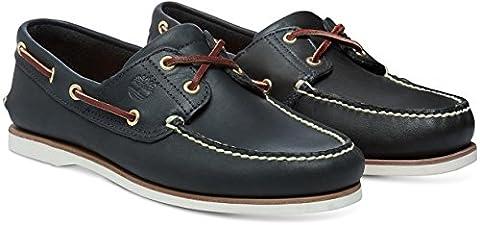Timberland Classic 2 Eye, Men's Boat Shoes, Blue, 10 UK