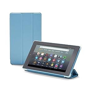 Nupro Hülle für Fire 7-Tablet, faltbar und mit Standfunktion, Dunkelblau