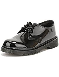 Dr Martens - Everley Lace Up Shoes In Black Patent
