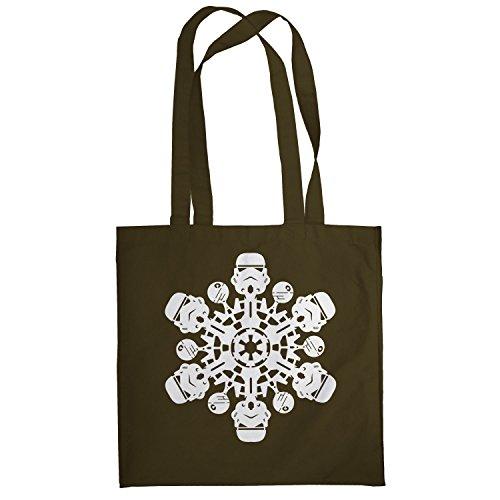 Texlab–Trooper Flakes–sacchetto di stoffa Marrone