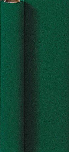 Duni Tischdeckenrolle aus Dunicel Uni dunkelgrün, 1,25 x 5 m (X 5 L-dunkelgrün)