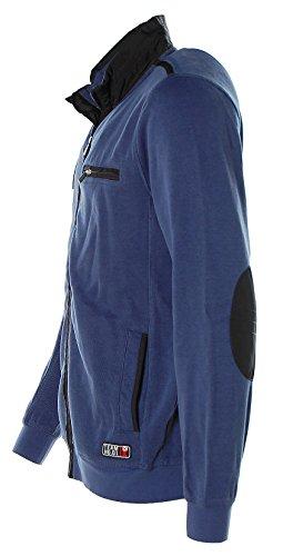 Kitaro -  Giacca sportiva - Collo mao  - Maniche lunghe  - Uomo Blue Marlin
