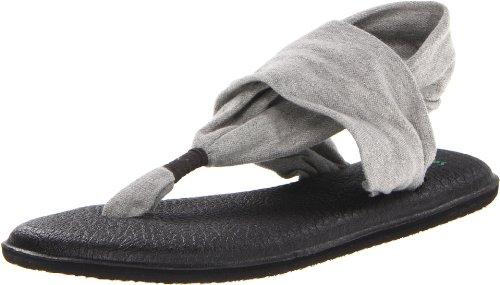 sanuk Damen Yoga Sling#2 Zehentrenner, Grau (Grey Gry), 40 EU -