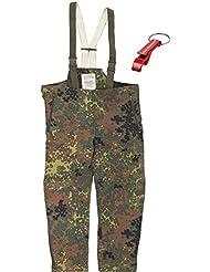 Original Bundeswehr Protection contre l'humidité Pantalon Pantalon imperméable original pas Import.