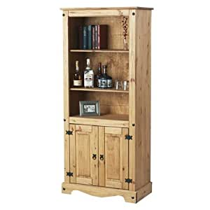 Corona Pine Display Shelves and Cabinet Living Room Dining Room Display Unit