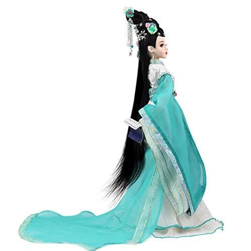 MEMIND Oriental Rhyme Song Dynasty Weibliche Wort Person Li Qingzhao Alte Kostüm Hohe Qualität 35cm Puppe Bjd Nach Maß Puppe Geburtstag Schönes Kind Spielkamerad Mädchen Spielzeug