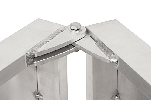 faltbare Aluminium Hunderampe 5