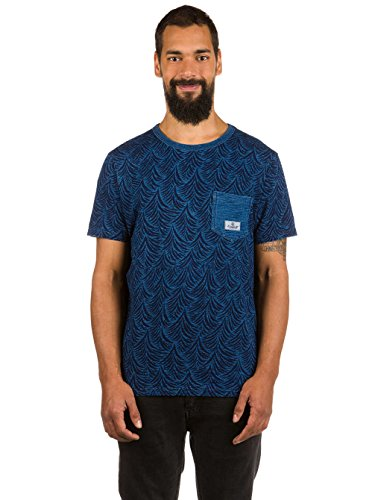 Herren T-Shirt Element Indigo Crew T-Shirt Light Indigo