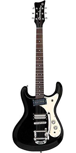 Danelectro Cool Cat 64BP The Black Pearl e della chitarra nero