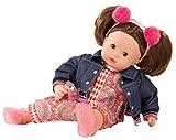 Götz 1827191 Maxy Muffin Vintage Puppe - 42 cm große Babypuppe mit braunen Schlafaugen, braune...