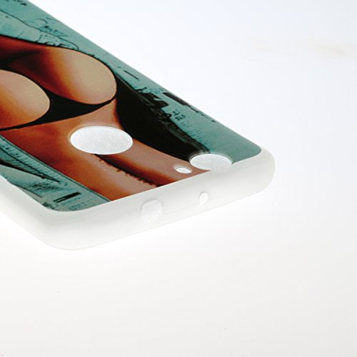 Coque Huawei P8 Lite 2017 Transparent,Coque Silicone pour Huawei Honor 8 Lite,Ekakashop Ultra Mince Mignon Cactus Motif Housse de Protection Crystal Clair Souple Gel Flexible Souple Case Coque Protect Filles Sexy