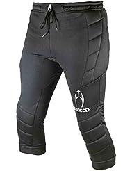 Pantalon pirata 3/4 de portero HO SOCCER Logo black (M)
