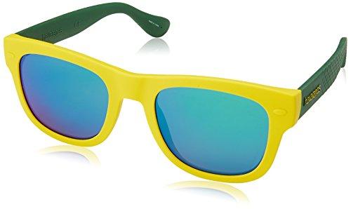 Havaianas Unisex-Erwachsene PARATY/M Z9 QSX Sonnenbrille, Gelb (Yellow Green/Grey), 50