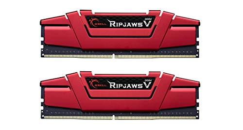 G.Skill Ripjaws F4-2400C15D-16GVR Arbeitsspeicher 16GB PC 2400 (CL15, 2X 8GB) DDR4-RAM Kit