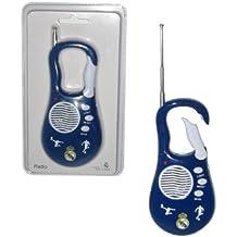 Seva Import Real Madrid - Radio, color blanco / azul, talla única