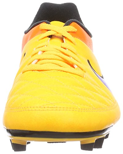 Nike Tiempo Rio 2 Fg, Chaussures de football homme Orange (Lsr Orng/Prsn Vlt-Ttl Orng-Vlt 858)