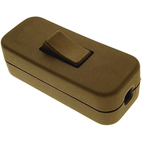 Interruttore a bilanciere, 3 fili, 1 via, colore: oro