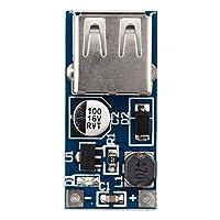 DGdolph 0.9V-5V To 5V Dc-Dc Booster Module Usb Mobile Step-Up Power Supply Module Blue