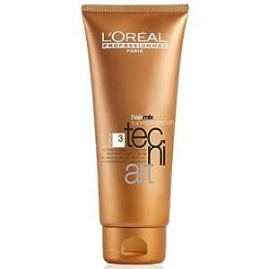 L'Oréal Professionnel - Nutri-Crème de Lissage pour Cheveux Secs - Tecni-Art - Force 3 - 200 ml